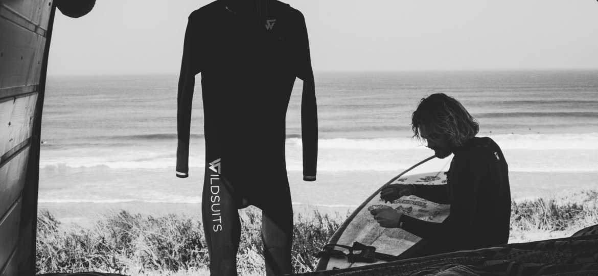 Wildsuits take care of your wetsuit combinaison fato de surf