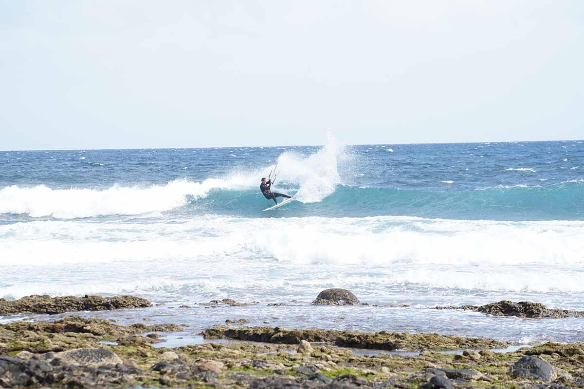 David Marin Kitesurfeur professionnel de Wildsuits