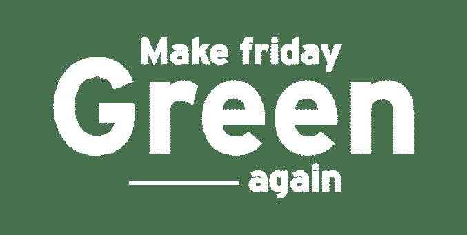 Logo Make Friday Green Again