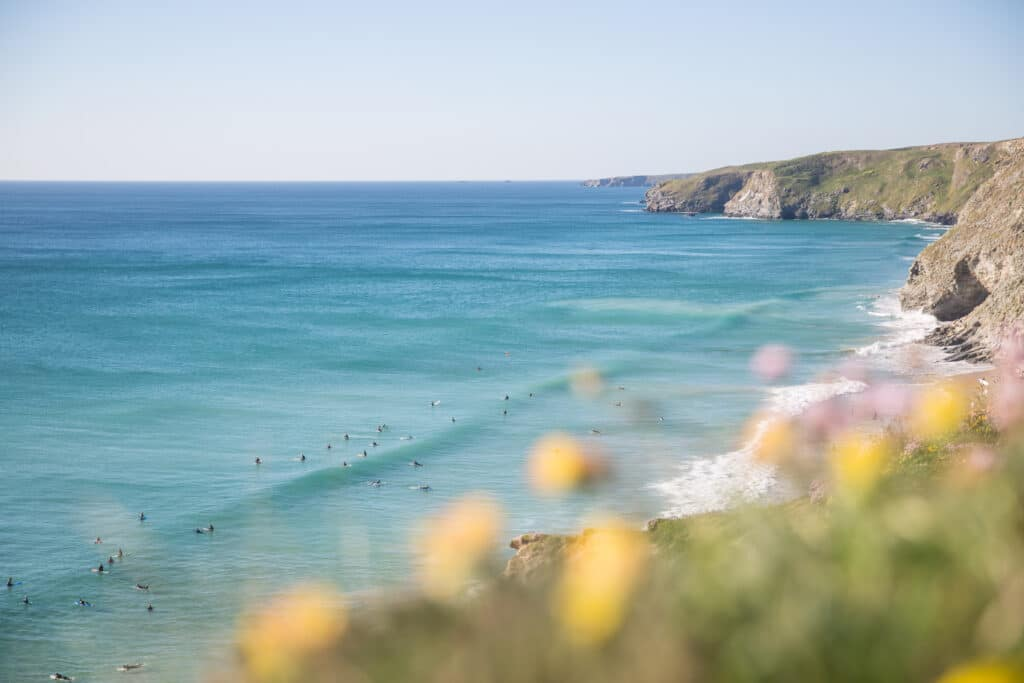 Surf in Newquay - Cornwall England