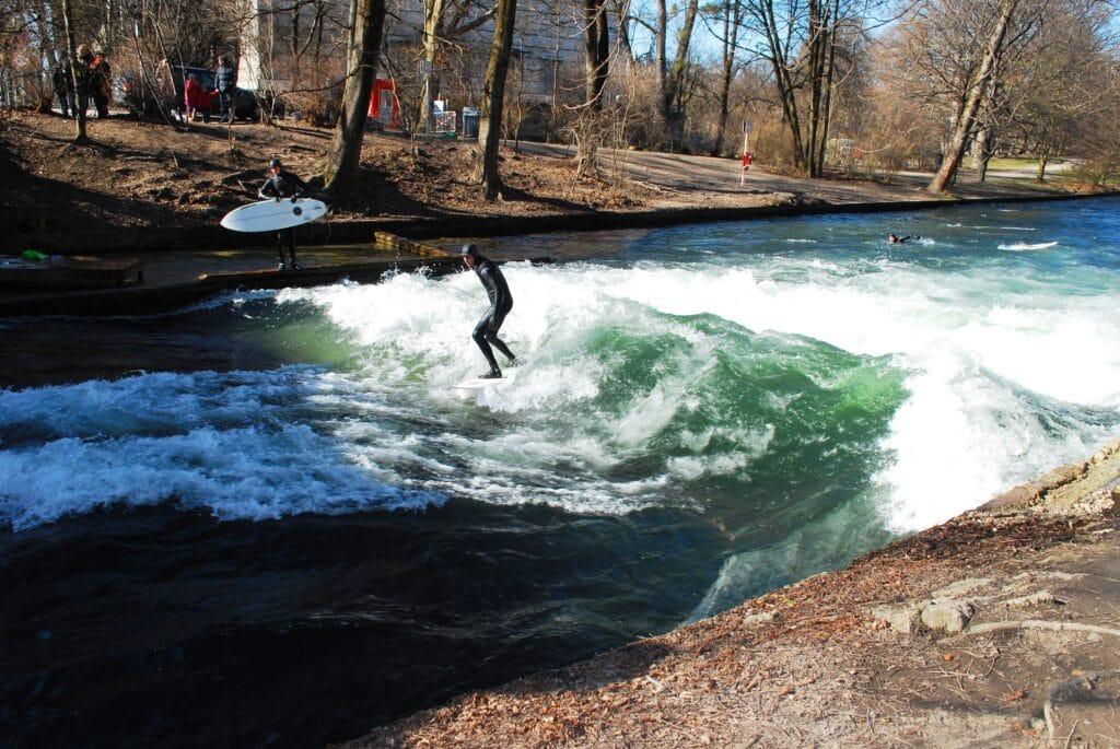 Surf en Allemagne : Surf de rivière