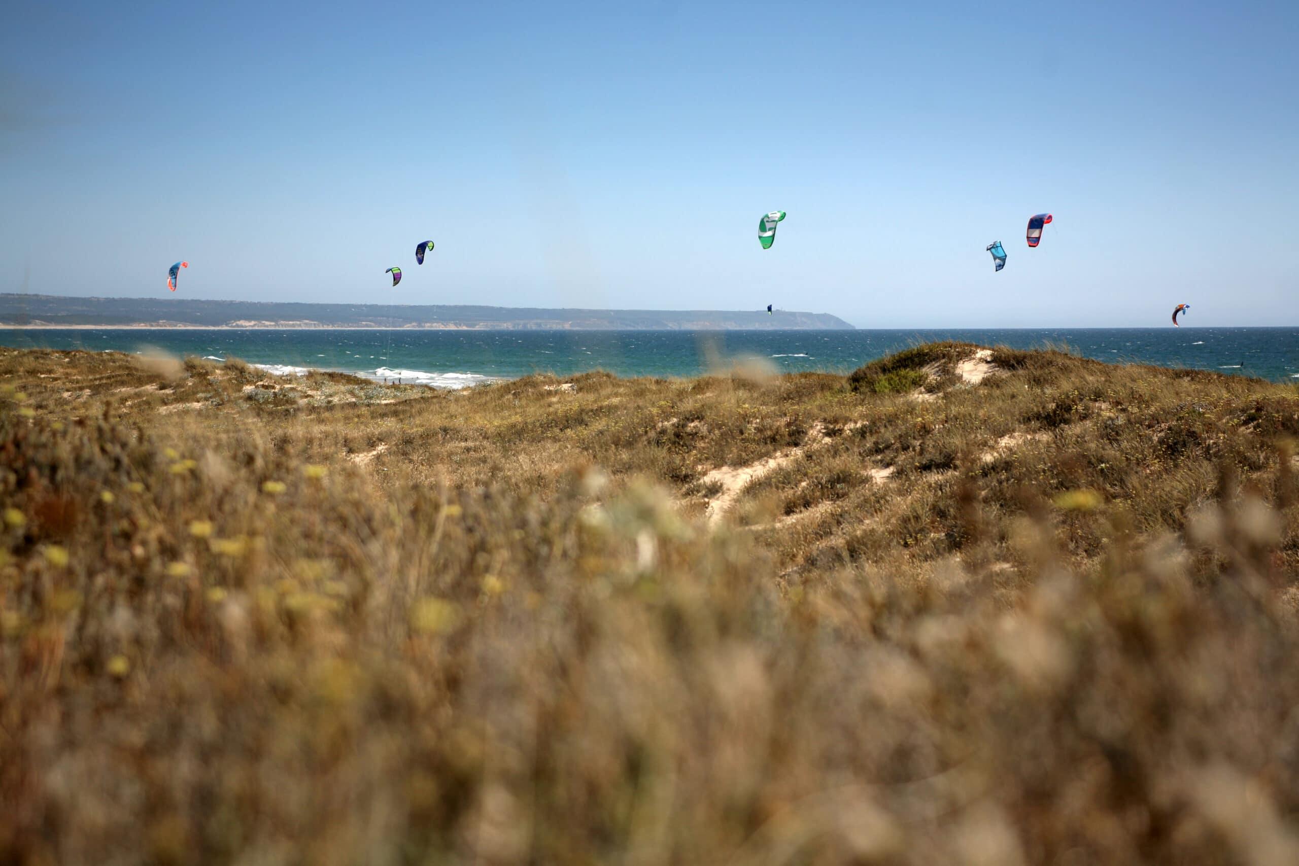 Kitesurf au Portugal