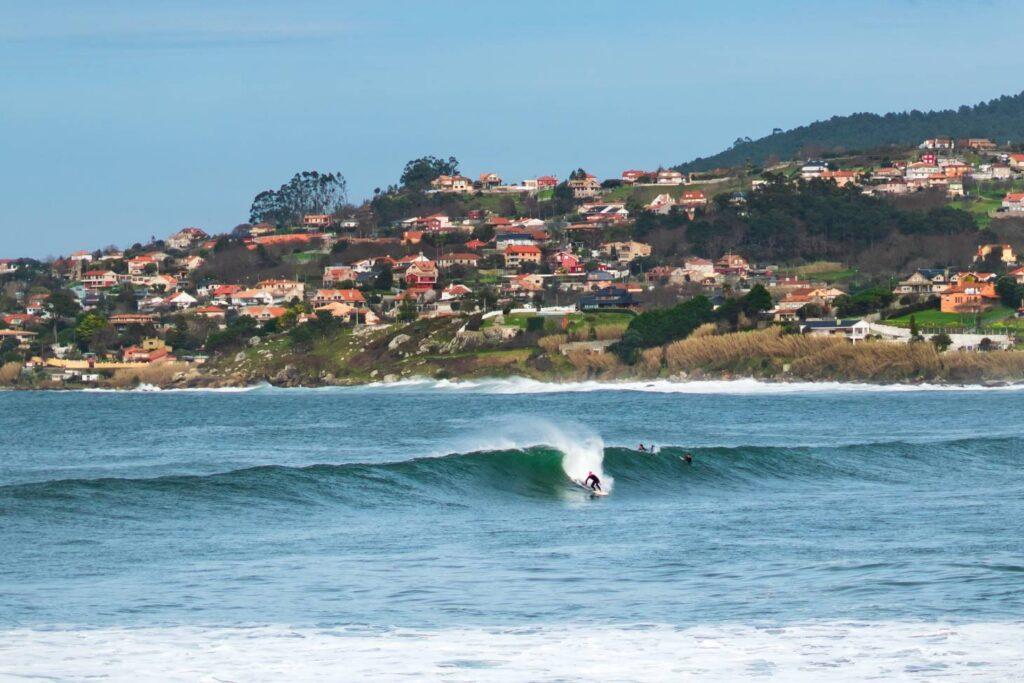 Surf Praia de Samil - Galice espagne