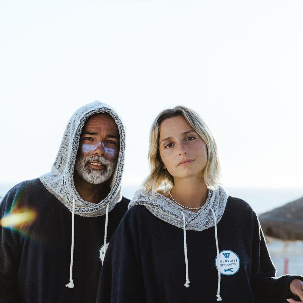 Poncho homme et femme Wildsuits